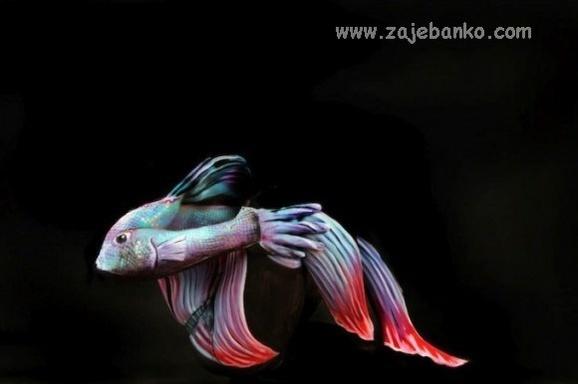 Body art iluzije