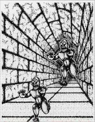 Iluzija čudovišta - optička iluzija