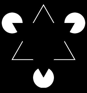 Kanizsa trokut - optička iluzija