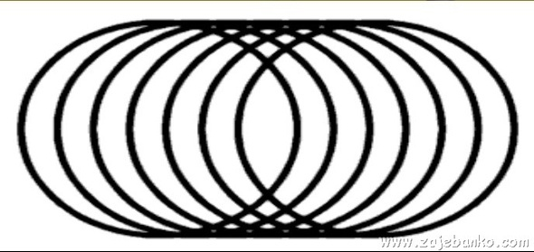 Neobični valjak optička iluzija