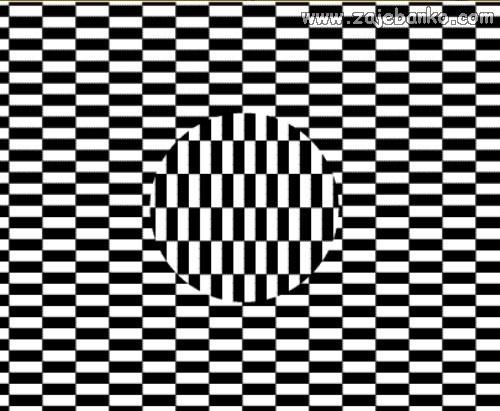 Lažni dojam okretanja - optička iluzija
