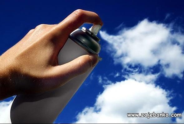 Optička varka crtanje oblaka