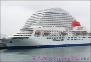 Lažan dojam velikog broda - optička iluzija