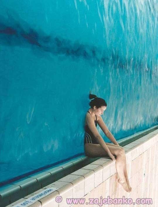 Lažan dojam vodenog zida - optička varka