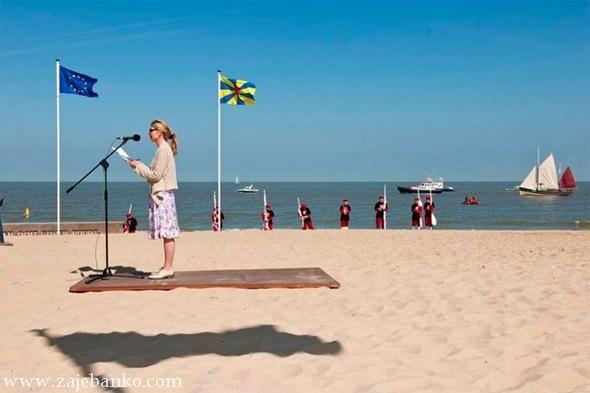 Zabavna optička varka - leteći tepih
