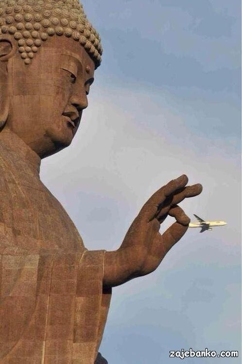 Zanimljive optičke iluzije - avion