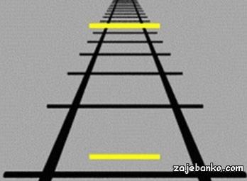 Žute linije - zanimljive optičke iluzije