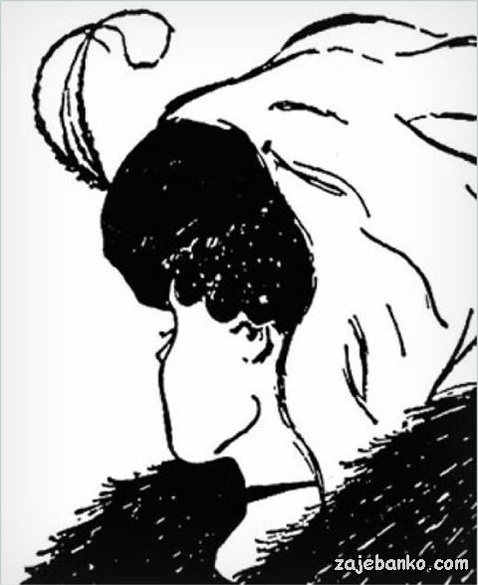 Djevojka ili stara žena - zanimljiva optička iluzija višeznačnosti