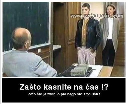 Vicevi o školi - Zajebanko