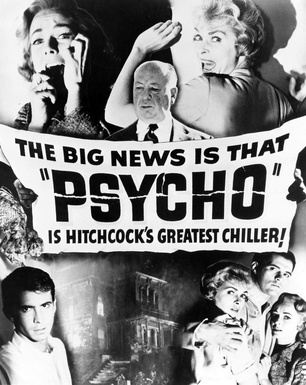 Alfred Hitchcock: Psycho film
