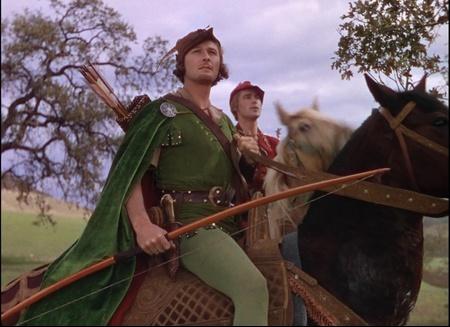 Errol Flynn kao Robin Hood