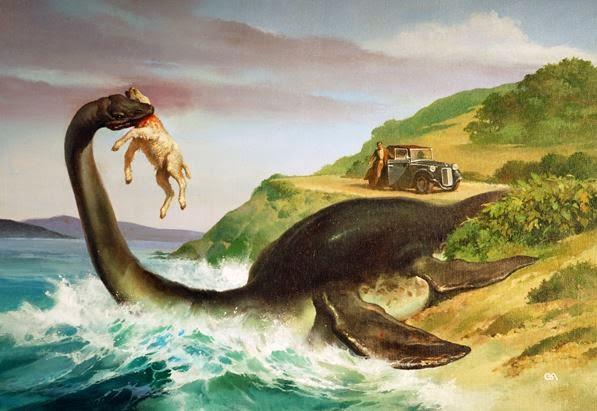 Nessie - mitsko čudovište iz Loch Nessa