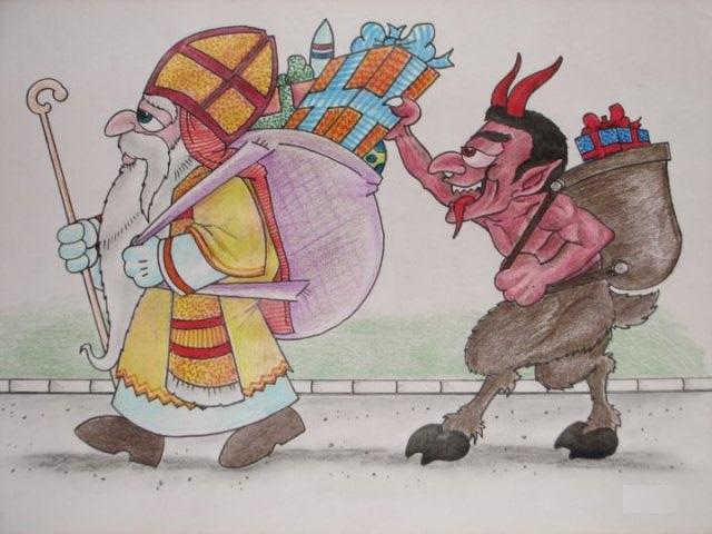 Sveti Nikola i Krampus