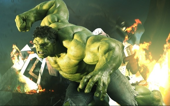 Hulk - zeleno čudovište s nadljudskom snagom