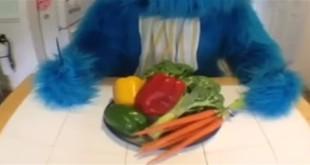 Smiješna reakcija na povrće