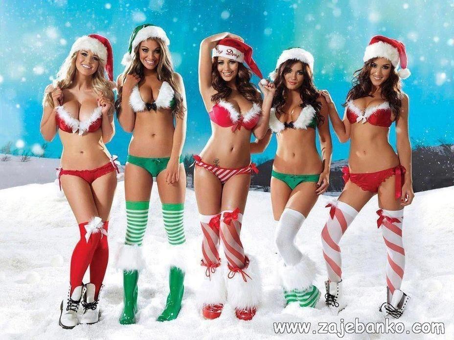 Otkačene božićne slike