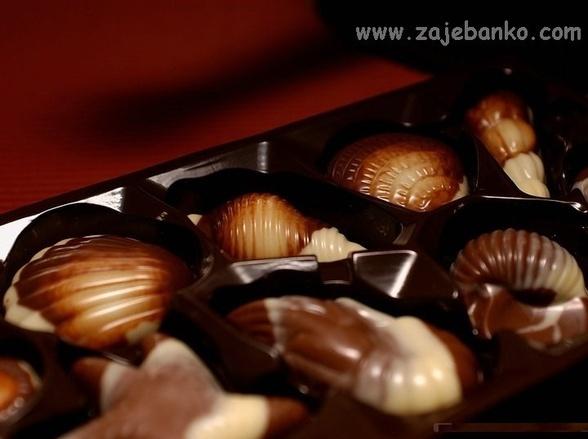 Slike čokoladnih delicija i poslastica