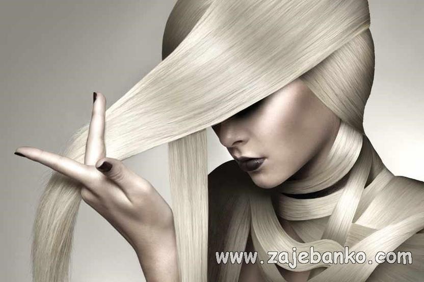 Ekstravagantne ženske frizure