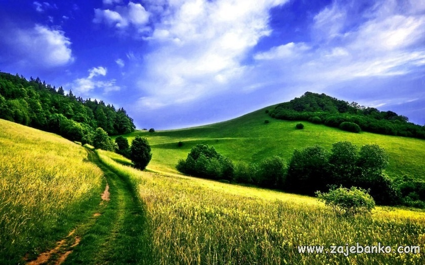 Prekrasni bajkoviti krajolici