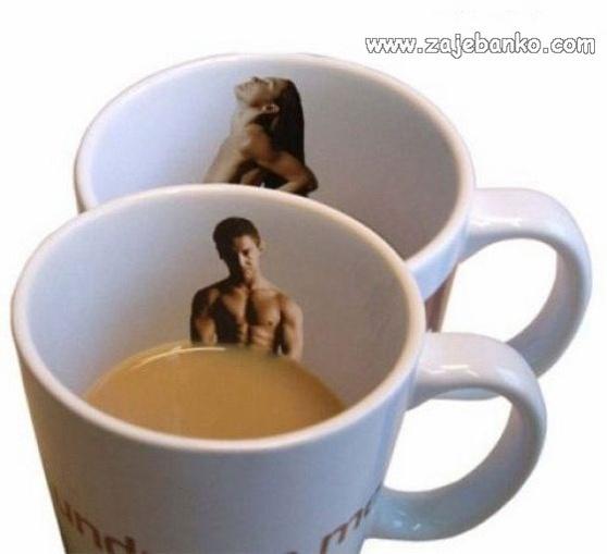 Smiješne stvari: Striptiz šalice za kavu