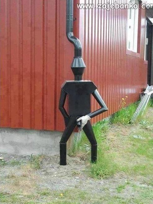 Predmeti neobičnog dizajna: Okolokućno vodopiškalo