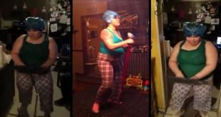 Rasplesana kućanica - zabavni video klipovi