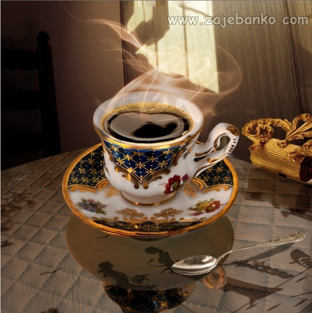 Umjetnost u šalici kave