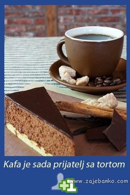 Prijateljstvo kave i torte