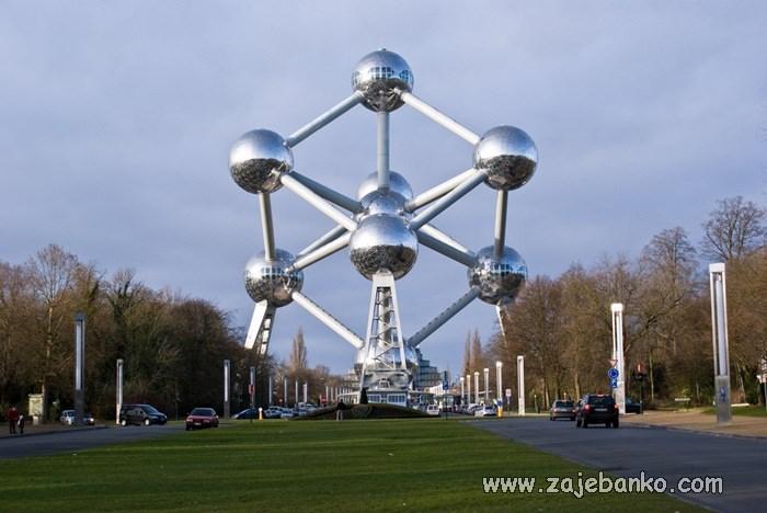 Najčudnije građevine na svijetu - Atomium
