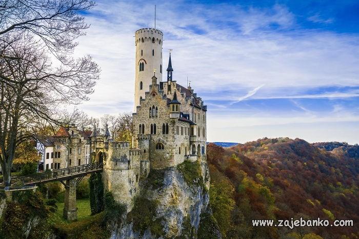 Bajkoviti dvorci - živuće legende