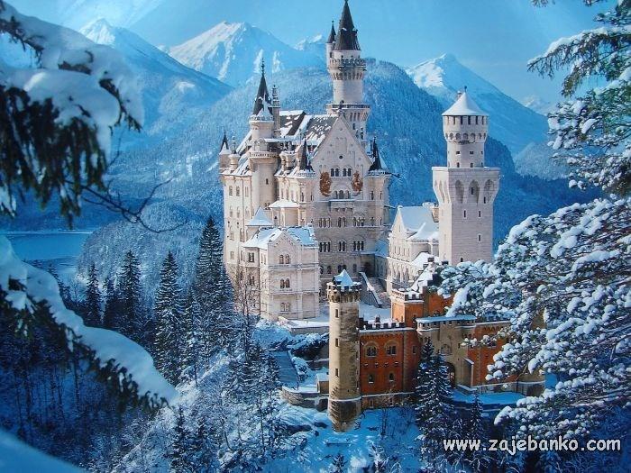 Slike bajkovitih dvoraca
