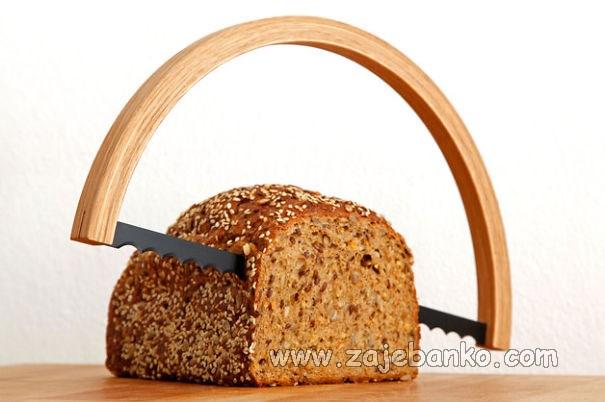 Kreativan poklon za svaku domaćicu - rezač kruha