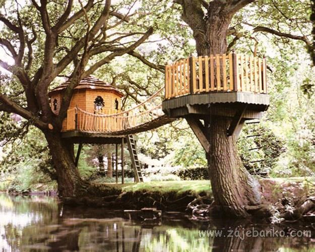 Prekrasne kućice na drvetu