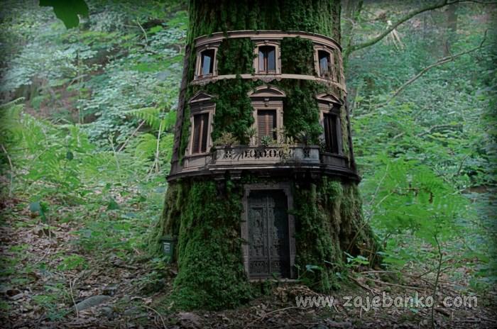 Kućica na stablu - prostor za igru, druženje, maštanje