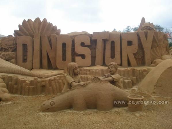 Umjetnost u pijesku - kreativne pješčane skulpture