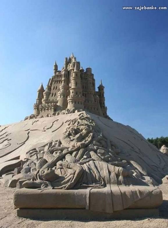 Umjetničke instalacije od pijeska