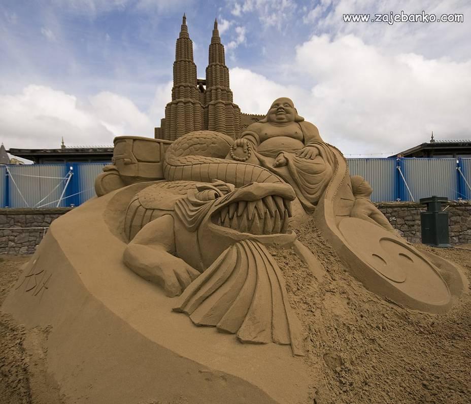 Skulpture od pijeska - galerija slika