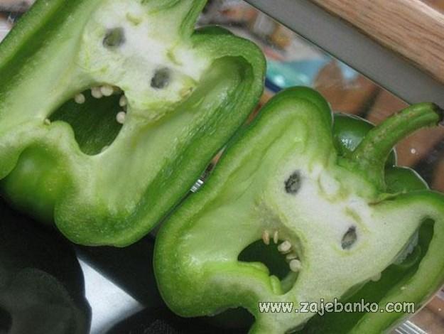 Čudni primjerci povrća