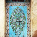 Staromodna vintage vrata