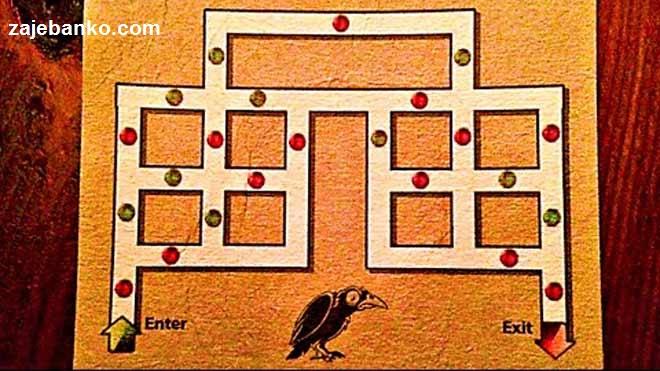 Mozgalice i zagonetke - izlaz iz labirinta