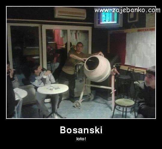 Smiješni Bosanci - Bosanski loto