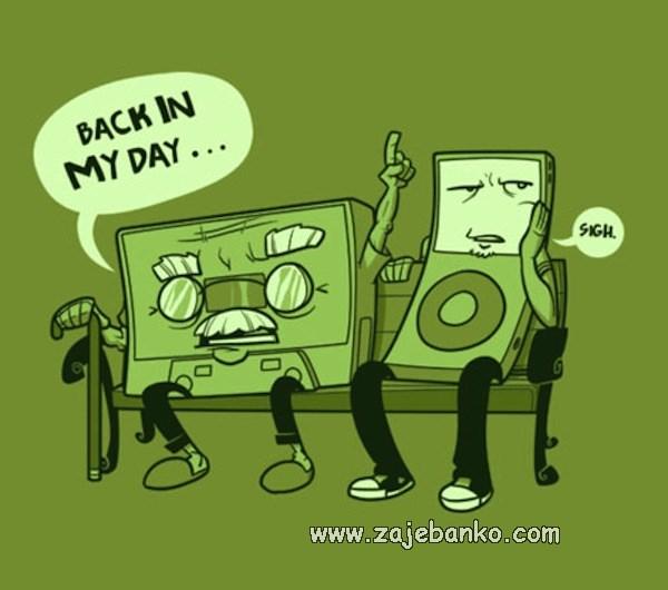 Generacijski jaz - nekad davno u moje doba...