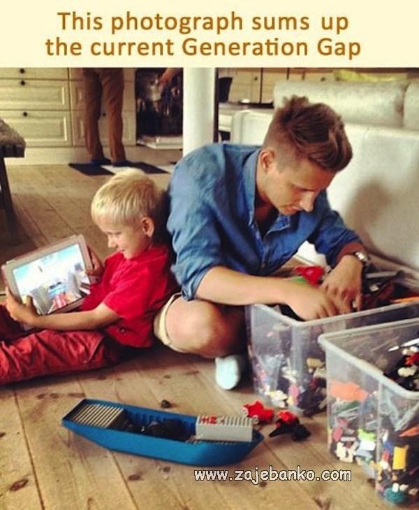 Smiješne generacijske razlike - igre nekada i danas