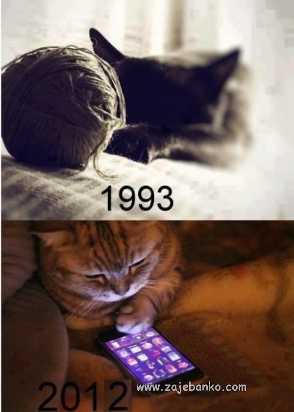 Generacijski jaz - običaji nekad i danas