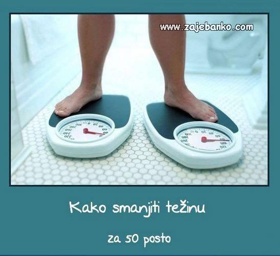 kako se riješiti viška kilograma