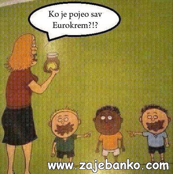 Najsmješnije slike djeca - tko je pojeo sav eurokrem