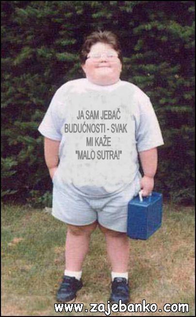 Najsmješnije slike djeca - mali debeljko
