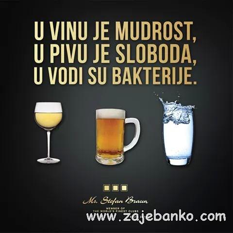 Pijanci smiješne slike - Izreke o alkoholu