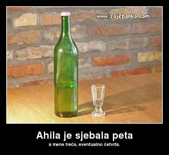 Pijanci smiješne slike - treća čašica