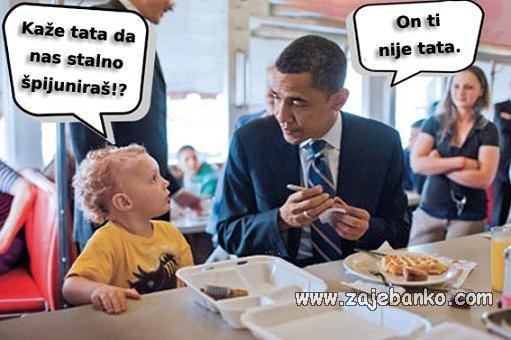 Političari smiješne slike - Barack Obama